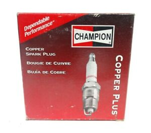 Box of 4 Spark Plugs Copper Plus Champion 332 RN7YC