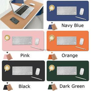 Schreibtischunterlage Tischunterlage Schreibtischmatte Mousepad Kork & Leder
