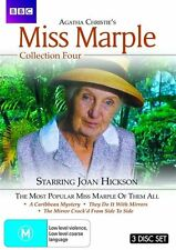 Agatha Christie's Miss Marple - Collection 4 (Single Case Edition) NEW R4 DVD