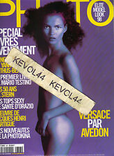 KATE MOSS French Photo Magazine 10/98 CINDY CRAWFORD NAOMI CAMPBELL