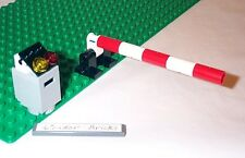 Lego Train Crossing / Toll Booth Gate 7936 Railroad Garage
