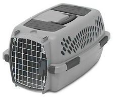 Petmate Pet Porter 21083 Kennel and Pet Carrier, Lt Gray for Pets up to 10 LBS