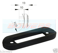 CURVED RUBBER MOUNTING GASKET FOR FLUSH FIT LED MARKER LAMP/LIGHT KELSA BAR RDX