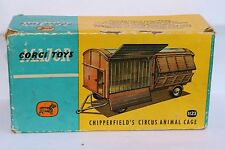 Corgi Toys 1123 Chipperfield Circus animal cage empty excellent plus box