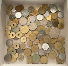 Lot Dollar, Kroner, Kronen, Pesetas, Münze, Amerika, Konvolut ca. 300 Stück