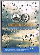 €5 MUNT ZILVER PROOF NEDERLAND WATERLAND 2010 BLISTER