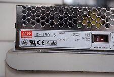 MEANWELL S-150-5 Netzgerät Netzteilbaustein NEU OVP