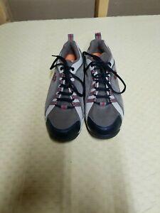 Pearl Izumi Mens Mountain Bike Cycling Shoes Size 7.5 EUR 40Brown Suede