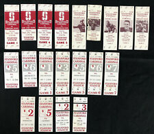 Lot of 20 Stanford Cardinal Football Ticket Stubs - 1990-1996 - California UCLA