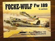 FOCKE-WULF FW 189 IN ACTION BOOK GERMAN FIGHTER PLANE WORLD WAR 2 AIRCRAFT WW2