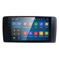 "Android 7.1 9""HD Monitor Car Dash GPS Radio fit Benz ML Class W164 GL Class X164"