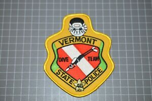 Vermont State Police Dive Team Patch (B17-S)