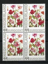 Nederland 2563c 2563-Ad-1 Serie bloemen Janneke Brinkman -tulp- blok v 4