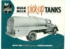 Entified- Bulk Milk Pick-up Tanks Brochure