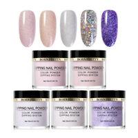 5 Boxes/Set BORN PRETTY Dipping Powder Glitter Dip Liquid Nail Art Starter Kit