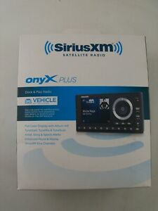 SXPL1H1 SiriusXM onyX Plus Dock and Play Satellite Radio Receiver, Vehicle Kit