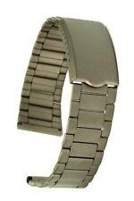Titan Uhrarmband gerader Anstoss 18 mm Stegbreite Ersatzband Faltschliesse