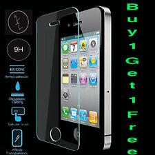 Acquista 1 ottenere 1 Gratis Vetro Temperato Originale Touch Screen Protector per iPhone 4 4g