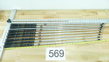 9 Taylor Made T-Step 90 Iron Golf Club Shafts .370