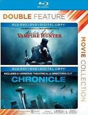 Abraham Lincoln: Vampire Hunter/Chronicle (Blu-ray Disc, 2014, 2-Disc Set) New