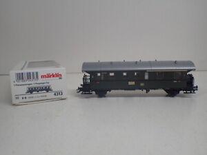 Märklin H0 4313 Personenwagen Donnerbüchse 1./2. Klasse der DB   TOP in OVP