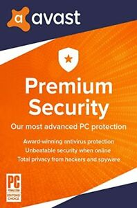 Avast Premium Security 2021 Antivirus 1 Device 1 Year