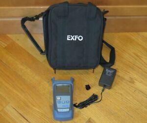 Exfo FPM-302X FPM-300 Fiber Power Meter, FOA-98 Connector & Case