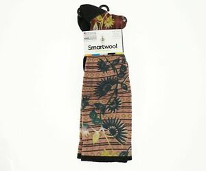 Smartwool 272914 Women's Compression Sightseeing Sunflower Crew Cut Socks Size M