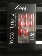 ICING Instant Nails Metallic Red