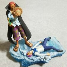 ONE PIECE figure diorama japan megahouse LOGBOX series mint new SHANKS + COBY