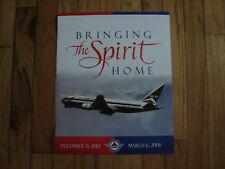 "DELTA  - BRING ""THE SPIRIT"" HOME POSTER 20 x 16 - NEW"
