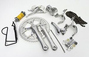 Gruppo Campagnolo Victory - vintage groupset 6/7 speed mid 80's