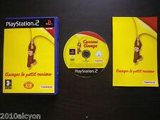 JEU Sony PLAYSTATION 2 PS2 : GEORGES LE PETIT CURIEUX (Namco COMPLET enfants)