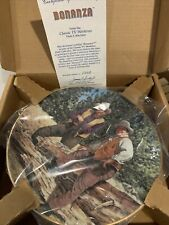 """Bonanza"" Classic Tv Westerns Collectors Plate"