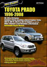 TOYOTA LAND CRUISER PRADO SHOP MANUAL LEXUS GX470 REPAIR SERVICE BOOK 1996-2008