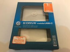 G-Technology G-DRIVE móvil USB-C 1TB 1000 GB disco duro externo-Plata