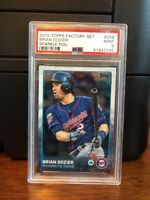 2015 Topps Sparkle Foil Brian Dozier Baseball Card #259 PSA 9 POP 1 None Higher