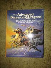 Ad&D Legends & Lore Miniature BOOK mini