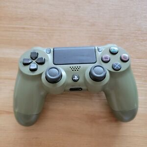 Sony PS4 Dualshock 4 Controller Call of Duty WW2 WWII Olive Army Green CUH-ZCT2U