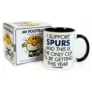 Spurs Supporter Mug Funny I SUPPORT cup Xmas Present Gift Tottenham Football
