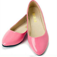 Women Ladies Ballerina Ballet Dolly Pump Flats Loafers Casual Slip On Boat Shoes