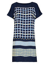 Marks and Spencer Women's Check Short Sleeve Casual Dresses