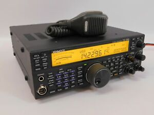 Kenwood TS-590SG HF 50MHz Ham Radio Transceiver w/ Mic + Cable (works great)