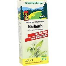 BÄRLAUCH SAFT Schoenenberger Saft 200ml PZN 692050
