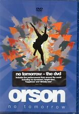 Orson - Theres No Tomorrow (Live Concerts + Videos) DVD (New & Sealed)