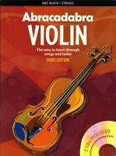 Abracadabra violín Davey Libro y CD 3rd Edición
