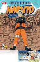 Fcbd 2020 Naruto Samurai 8 Viz Manga (2020 ) First Print Kishimoto Cover