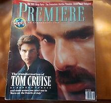 Tom Cruise, Martha Plimpton, John Goodman, Oliver Stone - Premiere Magazine 1990