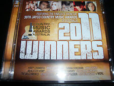 Winners 2011 Cmaa Country 2 CD Ft The McClymonts Adam Brand Sunny Cowgirls & Mor