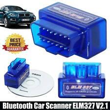 OBD2 Super Mini ELM327 V2.1 Bluetooth Voiture Scanner Outil de Scan auto Android